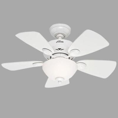 Watson 34 in. White Ceiling Fan